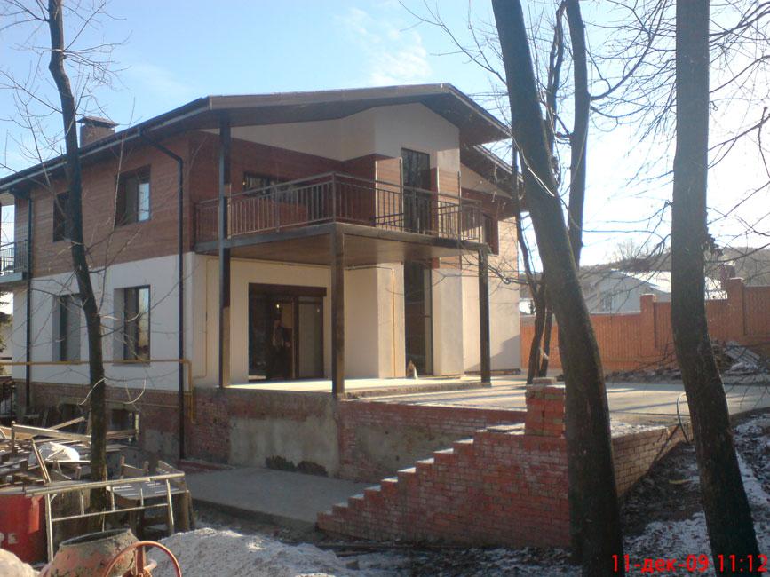 Комбинированные фасады домов фото
